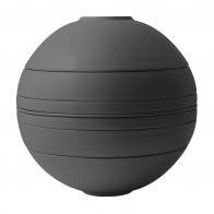 Zestaw 7 elementów Czarny 24 cm - Iconic La Boule Villeroy & Boch 1016659094