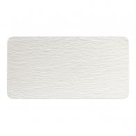 Prostokątny półmisek biały, 35 x 18 x 1 cm - Manufacture Rock Blanc