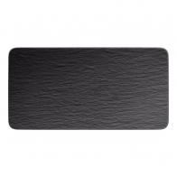 Prostokątny półmisek czarny, 35 x 18 x 1 cm - Manufacture Rock Villeroy & Boch 1042392281