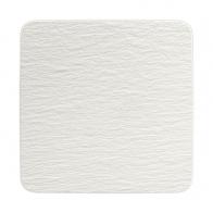 Kwadratowy półmisek biały, 32 x 32 x 1,5 cm - Manufacture Rock Blanc