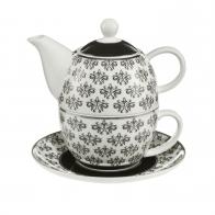 Zestaw Tea For One 15 cm / 0,35 l Diamenty - Chateau - Princess Maja von Hohenzollern