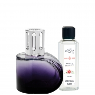 Zestaw Alliance Violet, lampa + zapach - Maison Berger