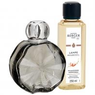 Zestaw Cercle Onyx, lampa + zapach - Maison Berger