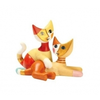 Figurka koty Rosella i Bonito - Rosina Wachtmeister