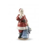 Figurka Św. Mikołaj jest tu 33 cm - Lladro