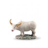 Figurka Wół - mini Zodiac 9 cm - Lladro