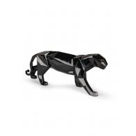 Figurka Pantera czarna połysk 50 cm