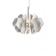 Lampa wisząca Nightbloom 40 cm biało - złota - Lladro