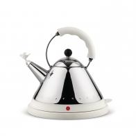 Czajnik 1,5 l elektryczny biały z ptaszkiem - Alessi Officina