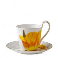 Filiżanka z podstawką Tulipan 270 ml - Flora