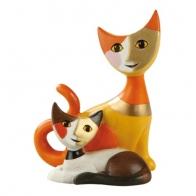 Figurka koty Rudolfo i Beata - Rosina Wachtmeister