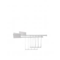 Zestaw ramek do tostera Plissé 2 szt. białe - Michele De Lucchi