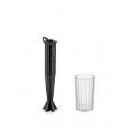 Blender ręczny Plissé czarny - Alessi