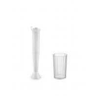 Blender ręczny Plissé biały - Alessi