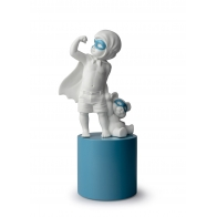 Figurka Mały Superbohater 32 cm 01009482 Lladro I have Super Powers Baby Boy