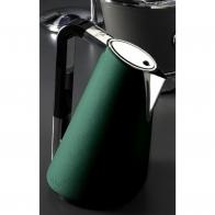 Czajnik elektryczny 1,7 l pokryty skórą zielony - VERA