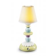 Lampa stołowa Lotus Firefly zielono-niebieska 28 cm - Lladro