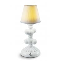 Lampa stołowa Cactus Firefly biała 30 cm - Lladro