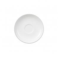 Spodek do filiżanki do herbaty 15 cm - Anmut Platinum