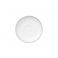 Spodek do filiżanki do espresso 12 cm - Anmut Platinum