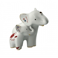 Figurka słoń Larro e Emoli 19,5 cm Edycja Limitowana Goebel 70000841