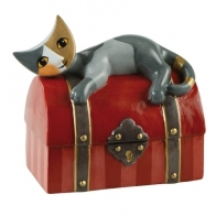 Skarbonka kot Strażnik skarbu - Rosina Wachtmeister