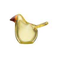 Figurka ptak Flycatcher różowo-niebieski