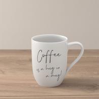 "Kubek ""Coffee is a hug in a mug"" 340 ml - Statement"