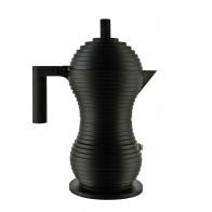 Zaparzacz do espresso Pulcina czarny 300 ml - Michele De Lucchi