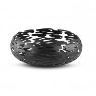 Kosz na owoce Barknest czarny 21 cm - Michel Boucquillon & Donia Maaoui - Alessi