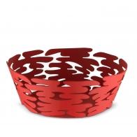 Kosz na owoce Barket czerwony 18 cm - Michel Boucquillon & Donia Maaoui - Alessi