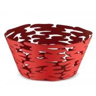 Kosz na owoce Barket czerwony 21 cm - Michel Boucquillon & Donia Maaoui - Alessi