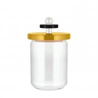 Szklany słoik żółty 1 l - Alessi
