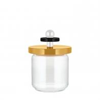 Szklany słoik żółty 0,75 l - Alessi