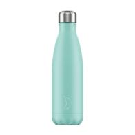 Butelka termiczna Pastel 500 ml Green - Chilly's Bottles