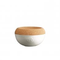 Pojemnik na sól 14 cm biały - Emile Henry
