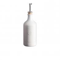 Butelka na oliwę 450 ml biała - Emile Henry