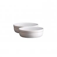 Zestaw dwóch miseczek creme brulee 12 cm biały - Emile Henry