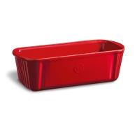 Podłużne naczynie do pieczenia 31 × 13 cm czerwone - Emile Henry