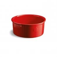 Naczynie do sufletów 23 cm czerwone - Emile Henry