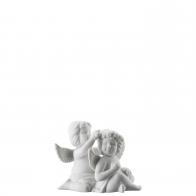 Figurka Para Aniołów z wiankiem , mały 6 cm Rosenthal 69054-000102-90529