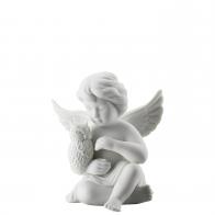 Figurka Anioł z sową, średni 10 cm Rosenthal 69055-000102-90528