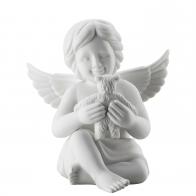 Figurka Anioł z misiem, duży 13 cm Rosenthal 69056-000102-90527