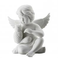 Figurka Anioł z sową, duży 14 cm