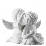 Figurka Para Aniołów z wiankiem, duża 12 cm Rosenthal 69056-000102-90529