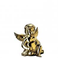 Figurka - Anioł Amor z sercem złoty - średni 10 cm Rosenthal 69055-426157-90097