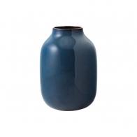 Wazon Shoulder 22 cm Bleu uni - Lave Home
