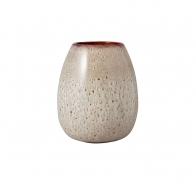 Wazon Egg Shape 17,5 cm Beige - Lave Home
