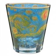 Świecznik - Tealight 9cm - Gwieździsta noc - Vincent van Gogh Goebel