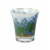 Świecznik - Tealight 10cm - Irysy - Vincent van Gogh Goebel